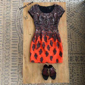 Club Monaco - Size 00 - Paisley silk blend dress